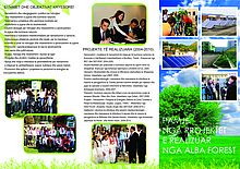 Leaflet AlbaForest Profile and Programme